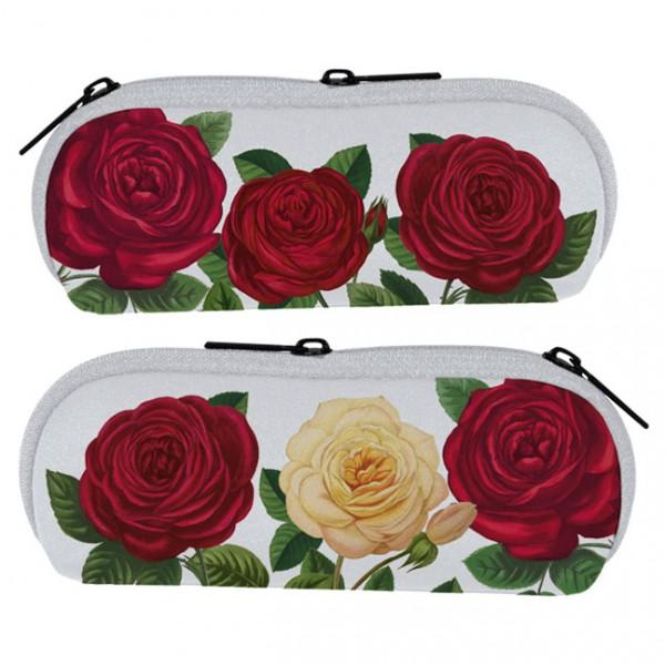 """Brillenetui """"Rote Rosen"""""""