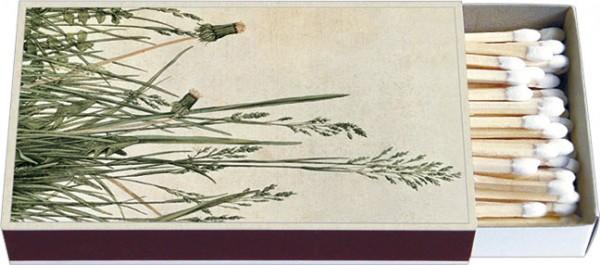 Zündholz-Schachteln 'Das große Rasenstück'