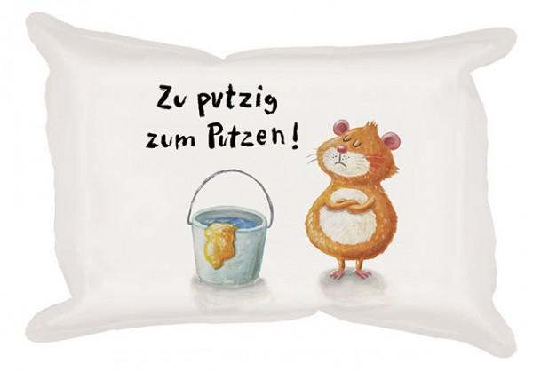 Wisch 'Zu putzig' von Nastja Holtfreter