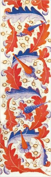 """Lesezeichen Gold """"Detail aus dem Gebetbuch des Francois, Herzog von Guise"""""""