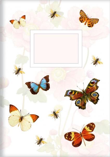 Kladden A5 'Bunte Schmetterlinge'
