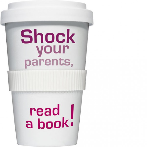 Coffee to go Becher 'Shock your parents'