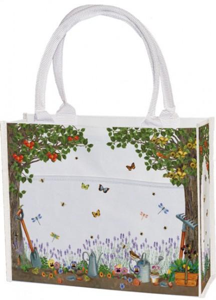 Einkaufstasche 'Gartenwelt' von Katja Wiedemann