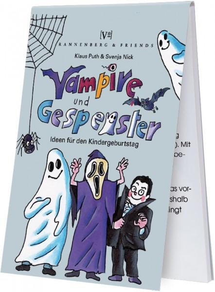 Spieleblöckchen 'Vampire und Gespenster'