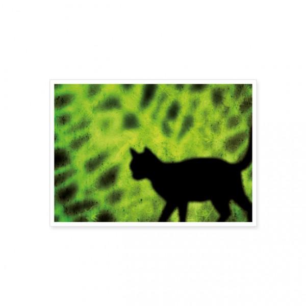 """Postkarte """"Katzen Silhouette"""""""