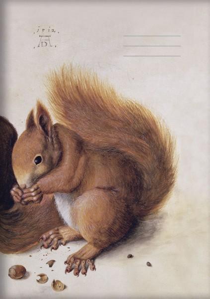 Kladden A5 'Eichhörnchen' von Albrecht Dürer