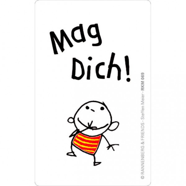 Magnete 'Mag Dich!'
