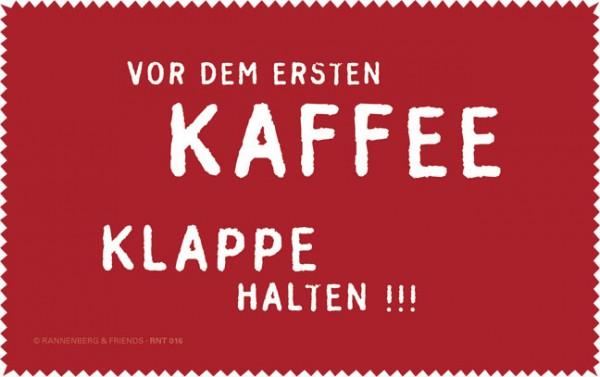 Netbooktuch 'Vor dem ersten Kaffee'