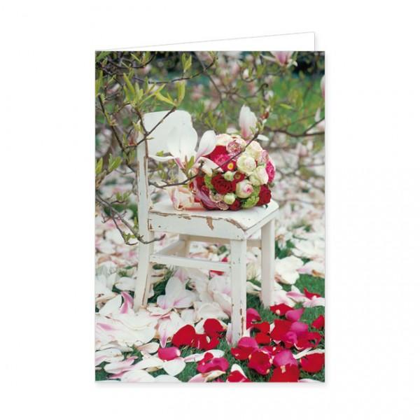 "Doppelkarte ""Magnolienblütenmeer"""