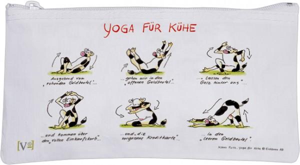 Etuitasche 'Yoga für Kühe'