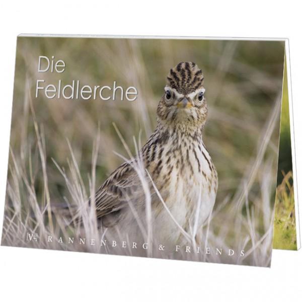 """Postkartenbuch """"Feldlerche"""" der Vogel des Jahres 2019"""