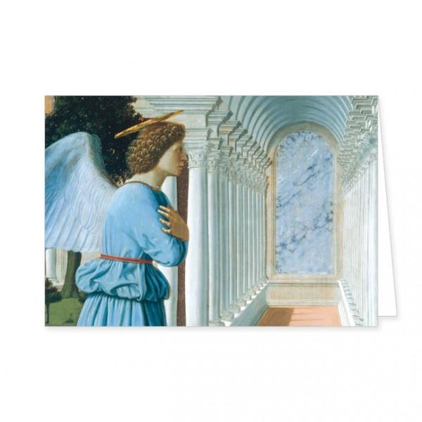 """Doppelkarte """" Die Verkündigung an Maria """""""