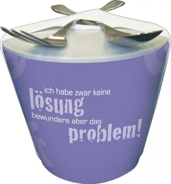 """Snack-to-go """"Problem und Lösung"""""""