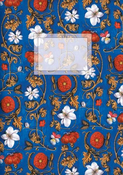 Kladden A5 'Aus dem Stundenbuch ..., Blumenornament'
