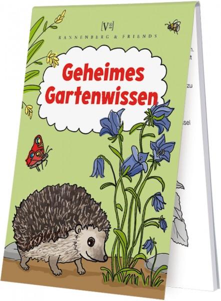 """Spieleblöckchen """"Geheimes Gartenwissen"""""""