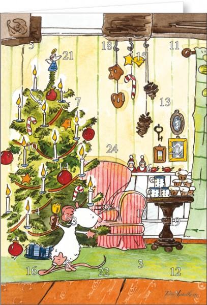 """Adventskalender A4 """"Tilda – Gesegnete Weihnachten"""""""