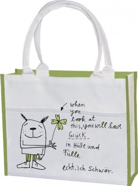 Einkaufstasche 'Glück in Hülle und Fülle' von karindrawings