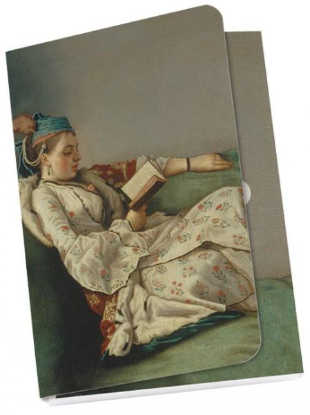"""Taschennotizblöckchen """"Bildnis der Marie Adelaide von Frankreich"""""""
