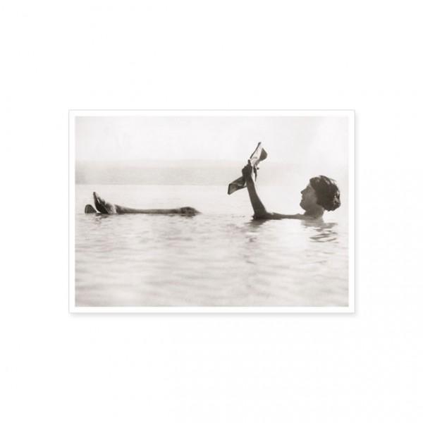 """Postkarte """"Lesefreuden im Meer"""""""