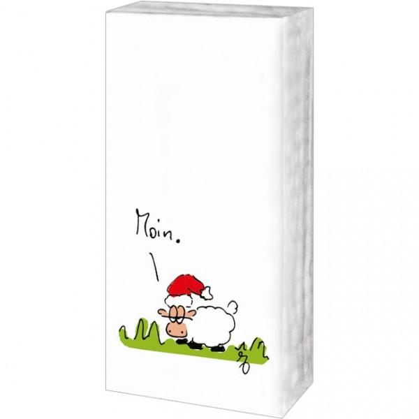 Taschentücher Weihnachten 'Moin Weihnachten'