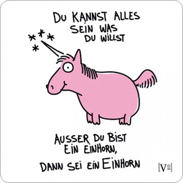 """Kleine Handy-Putzis """"Sei ein Einhorn"""""""