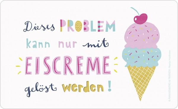 """Brettchen """"Eiscreme"""""""