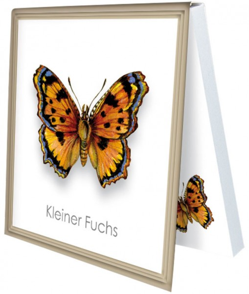 Klebezettel 'Kleiner Fuchs'