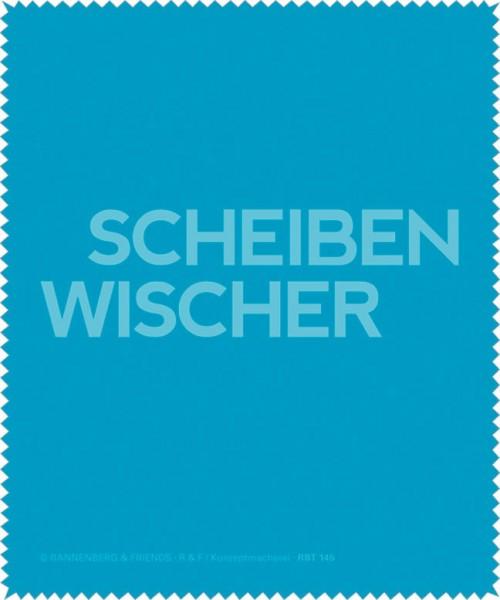 Brillenputztuch 'Scheibenwischer'