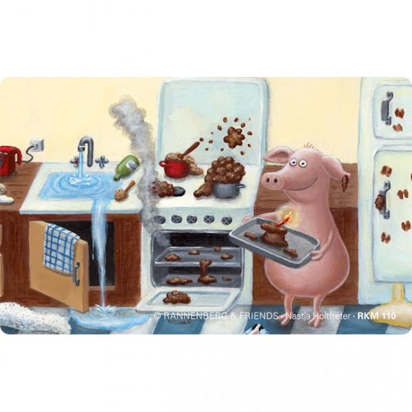 Magnete 'Happy Birthday Kuchen'