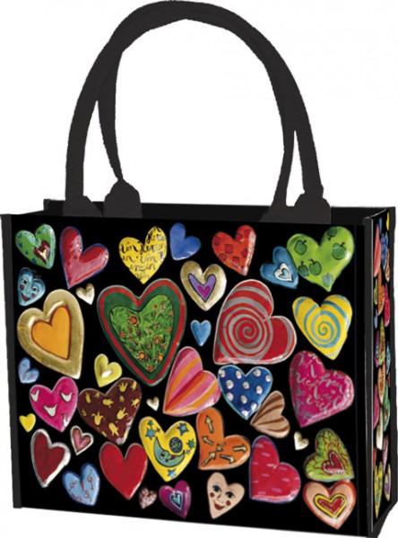 Einkaufstasche 'Herzenssache' von Stefanie Steinmayer