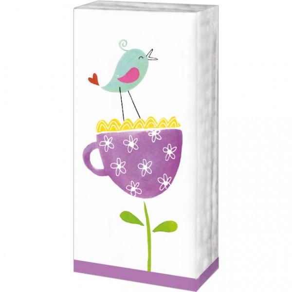 Taschentücher 'Vögelchen'