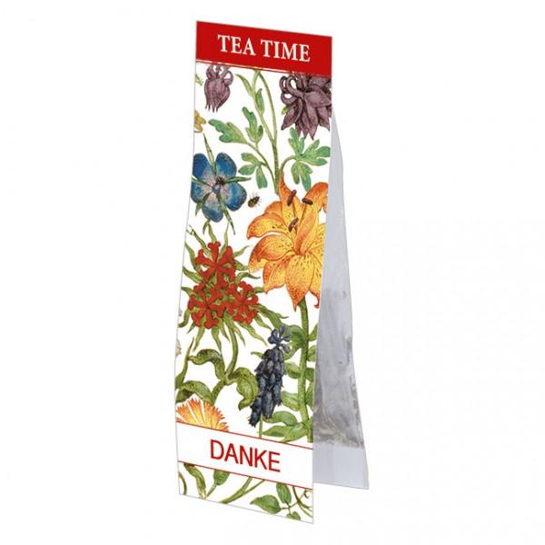 Tea Time 'Danke - Gartenblumen'