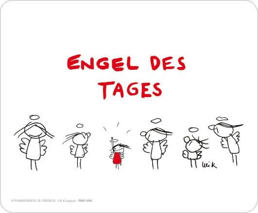"Maus-Pad ""Engel des Tages"""