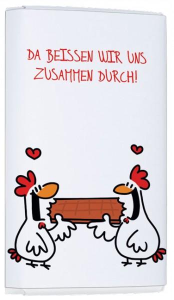 """Schokoladen-Täfelchen """"Durchbeißen"""""""