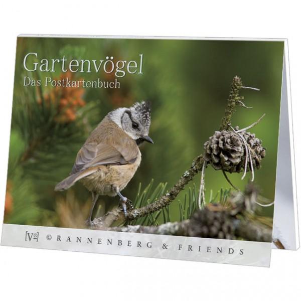 Postkartenbuch 'Gartenvögel'