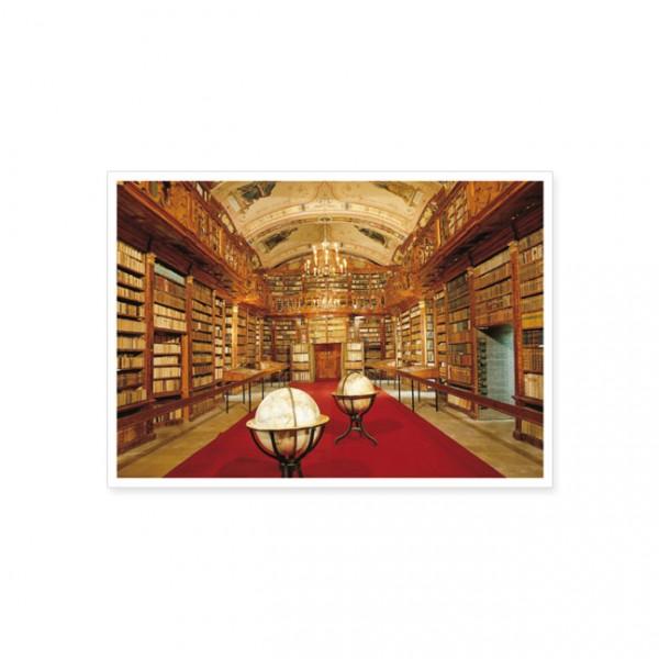 """Postkarte """"Stiftsbibliothek in Aigen-Schlügl, Oberösterreich"""""""