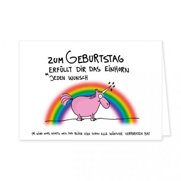 """Doppelkarte """"Wunscherfüllung"""""""