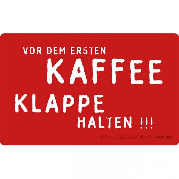 Magnete 'Vor dem ersten Kaffee'