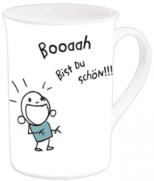 Becher 'Booah bist Du schön!'