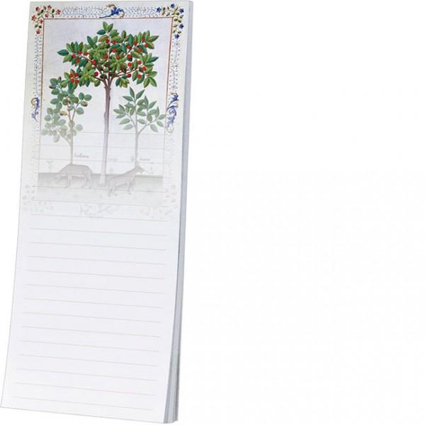Kühlschrankblöckchen 'Haselnussbusch und Kirschbaum'