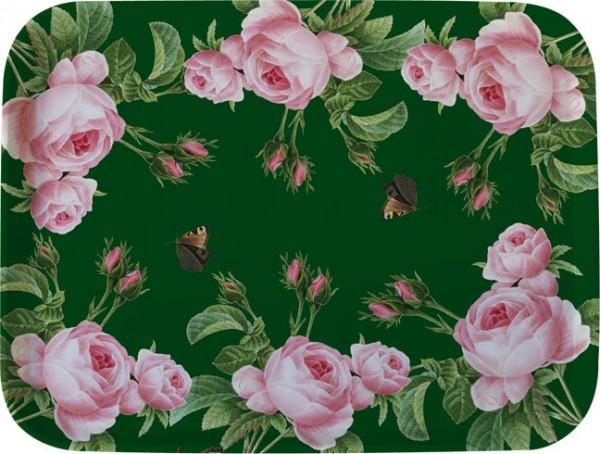 Tablett 'Rosa centifolia'