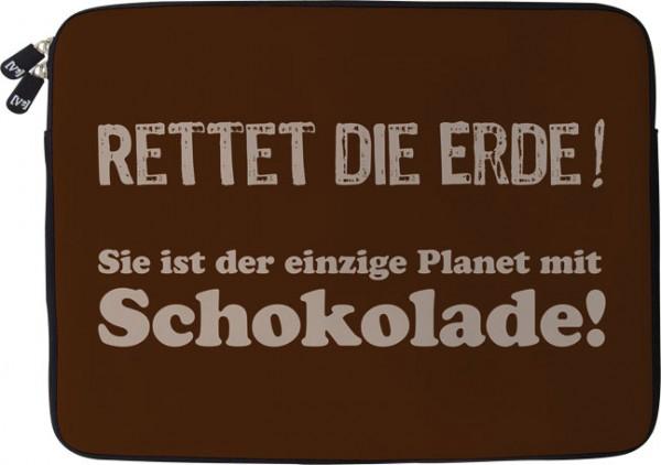 Laptoptaschen 17'' 'Rettet die Erde'