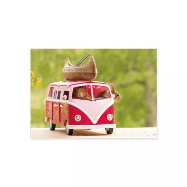 "Postkarte ""Adventure here we come"""