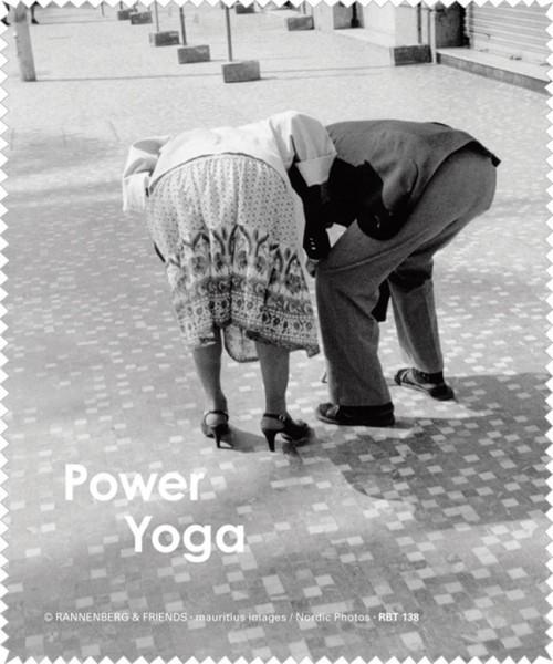 Brillenputztuch 'Power Yoga'