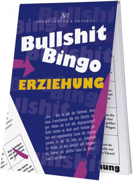 Spieleblöckchen 'Bullshit-Bingo Erziehung'