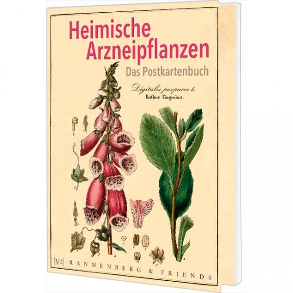 """Postkartenbuch """"Heimische Arzneipflanzen"""""""