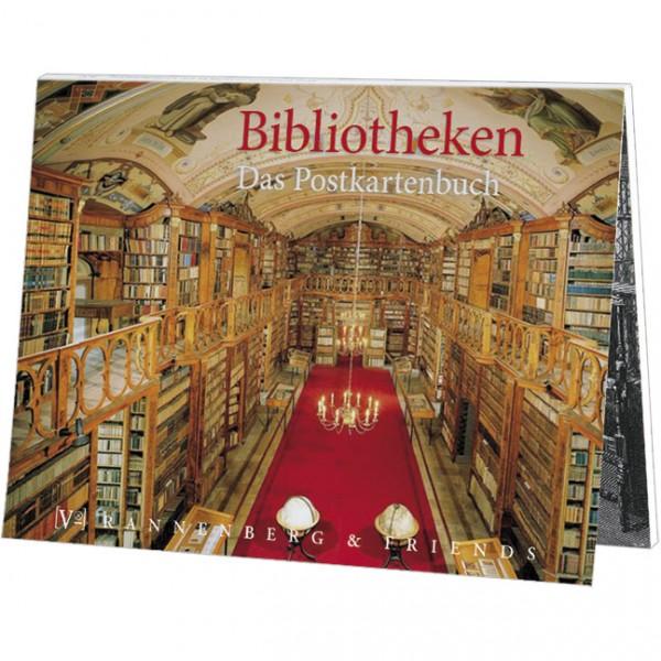 Postkartenbuch 'Bibliotheken'