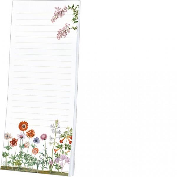 Kühlschrankblöckchen 'Blumen aus dem Nassau Florilegium'