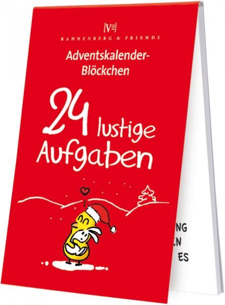 Adventskalenderblöckchen '24 lustige Aufgaben' von Alexander Holzach