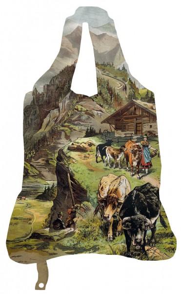 """Einkaufsbeutel """" In den Bergen """""""